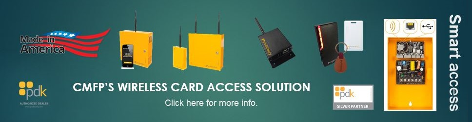 Wireless Card Access Control